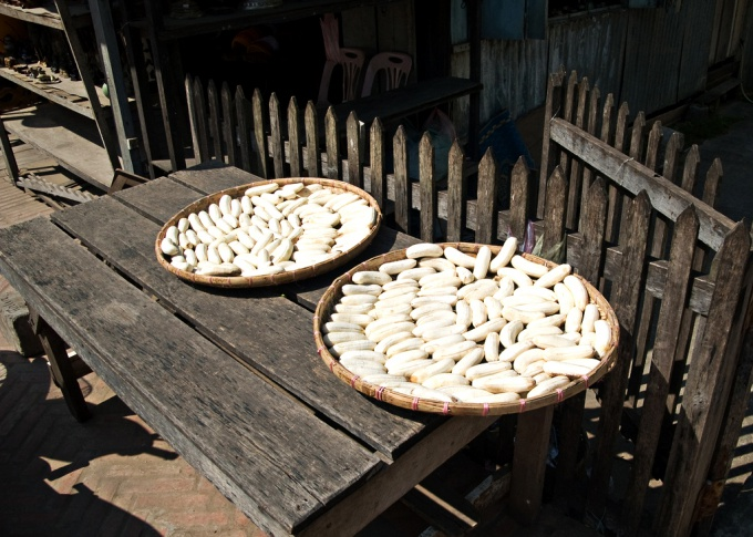 Natural sun drying is a traditional method of preserving bananas in Latin America