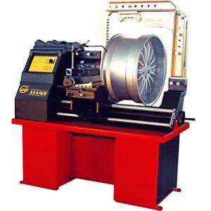 Стенд для проверки и правки литых дисков