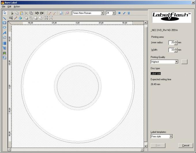 Как напечатать на <strong>диске</strong>