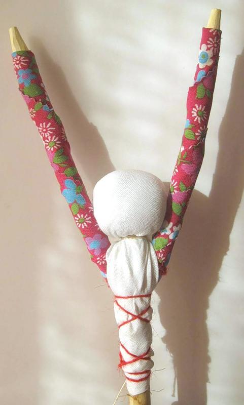Как сделать <strong>куклу-<b>веснянку</b></strong>