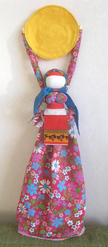 Как сделать куклу-веснянку