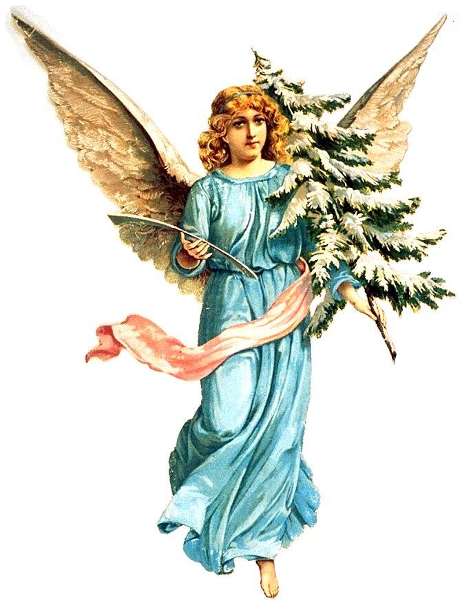 Как сделать бумажных ангелов