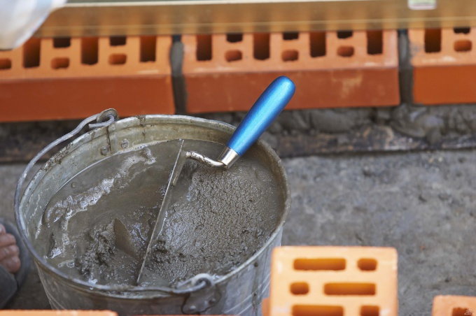 How to make cement mortar