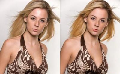 Как объединить два изображения