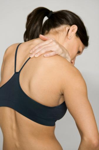 Как снять боль в шее