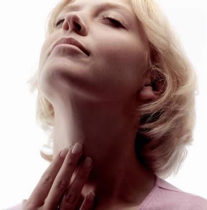 Как снять отёк горла