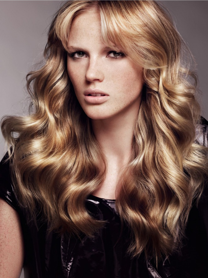 How to make soft curls