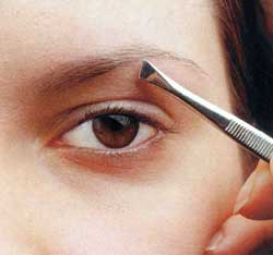 How to cut the <strong> eyebrows </ strong>
