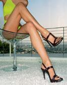 Ношение обуви на каблуках может привести к пяточной шпоре.