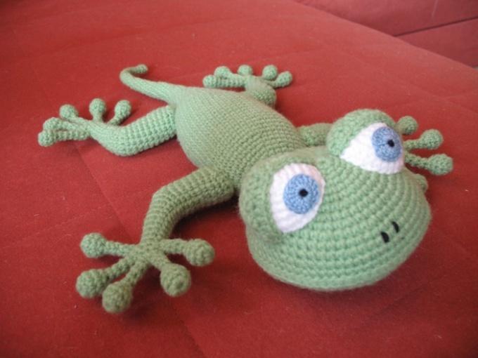 Как сделать ящерицу