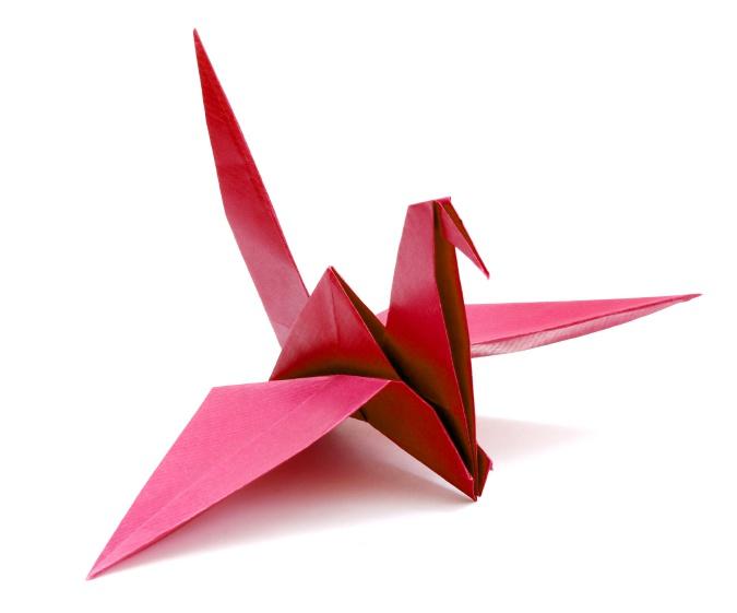 Как сделать птичку из оригами