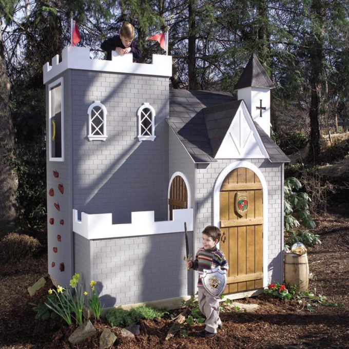 Как сделать игрушечный домик