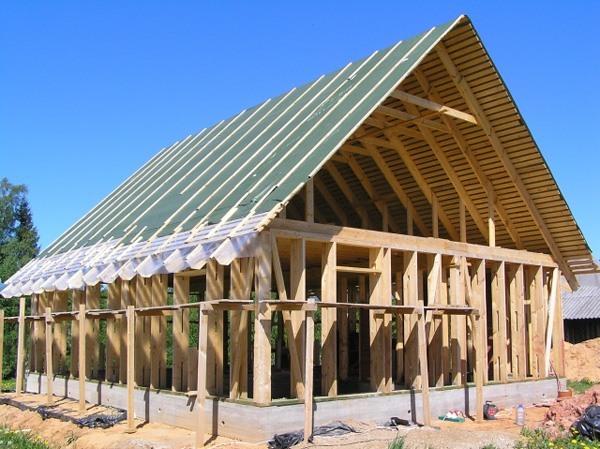 Как построить канадский дом
