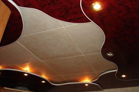 Как сделать потолок в квартире