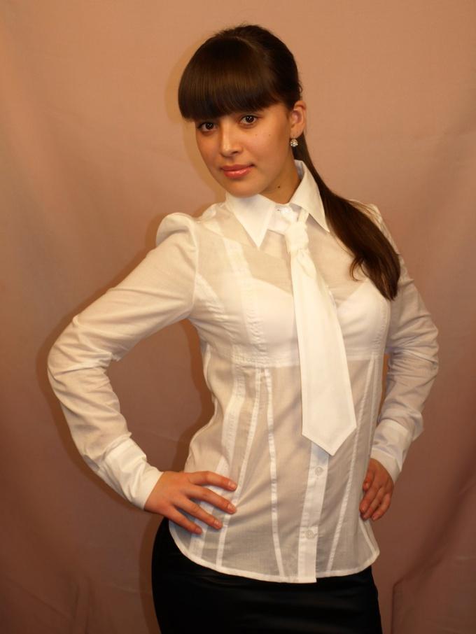 Как сделать выкройку блузки