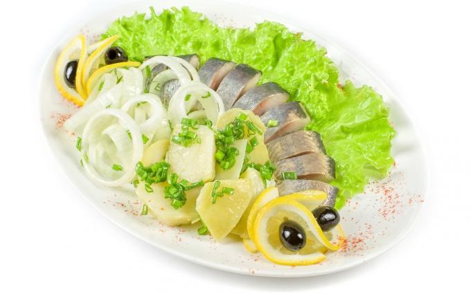How to make herring in vinegar