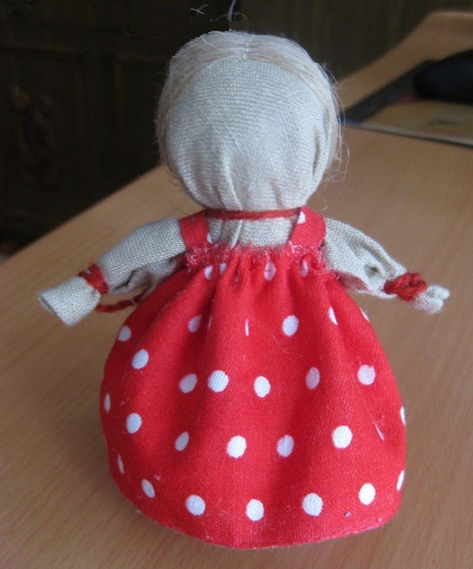 Готовая куколка-оберег