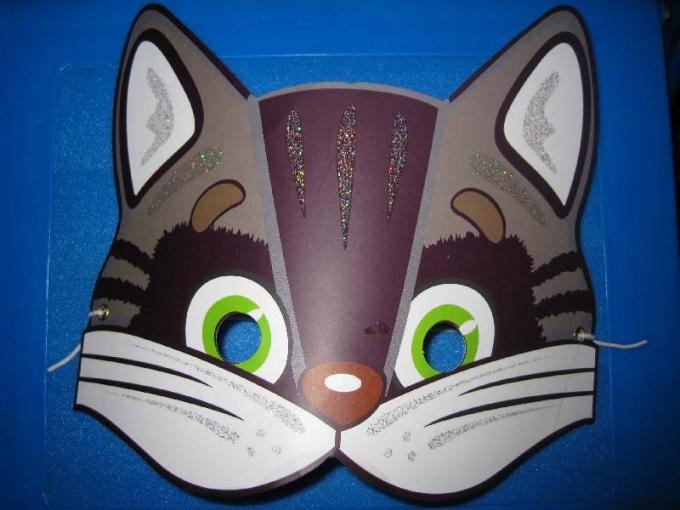 Как сделать маску кота