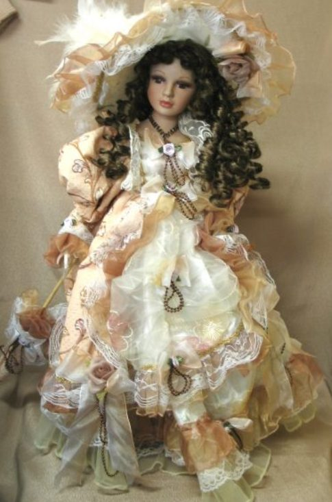 How to make a porcelain doll