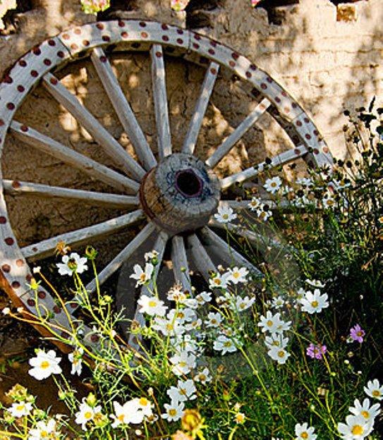 Как сделать деревянное колесо