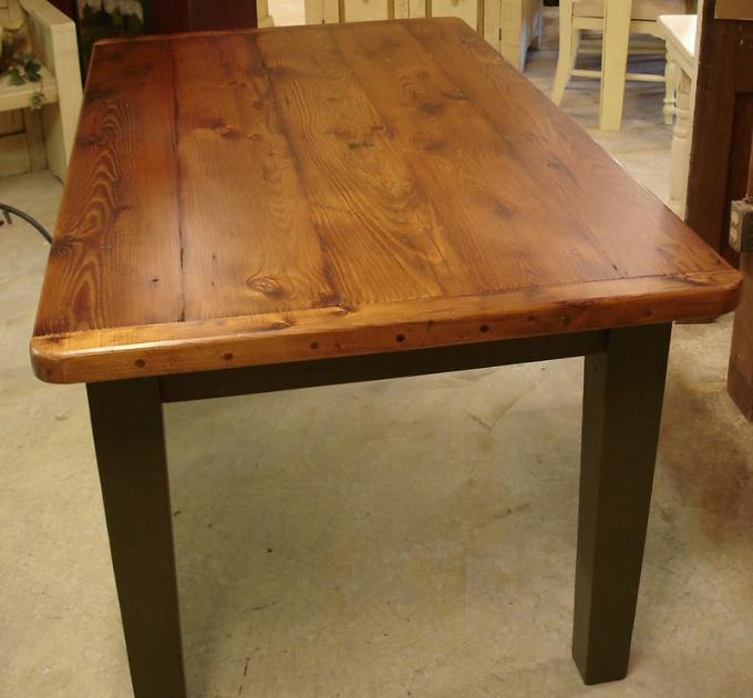 Как сделать деревянный стол