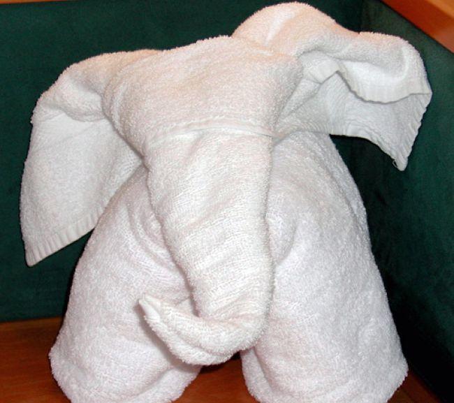 Как сложить красиво <strong>полотенца</strong>