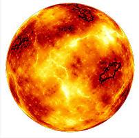 Как сделать огненный <strong>шар</strong> в <b>фотошопе</b>