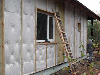 How to insulate concrete blocks
