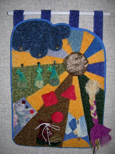 Как сшить развивающий коврик для детей