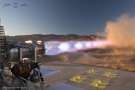 Одна из моделей двигателей будущего. Разработки NASA.