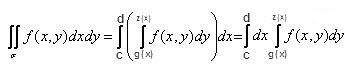 Как решать двойные <strong>интегралы</strong>
