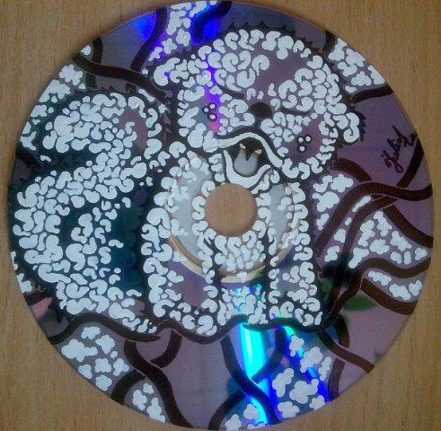 Как сделать рисунки на диске