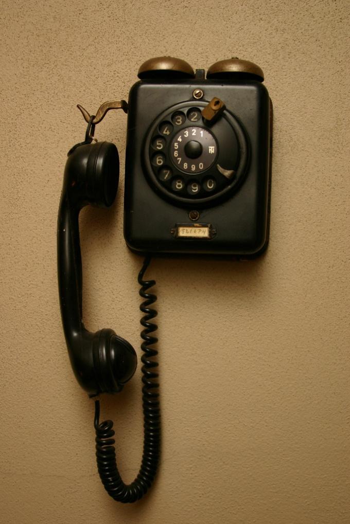 Как провести телефон в квартиру