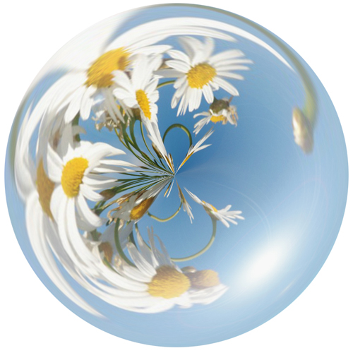 Как сделать пузыри в фотошопе