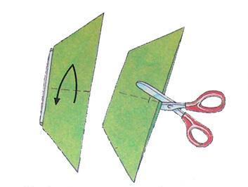 Как сделать простейший <strong>оригами</strong>