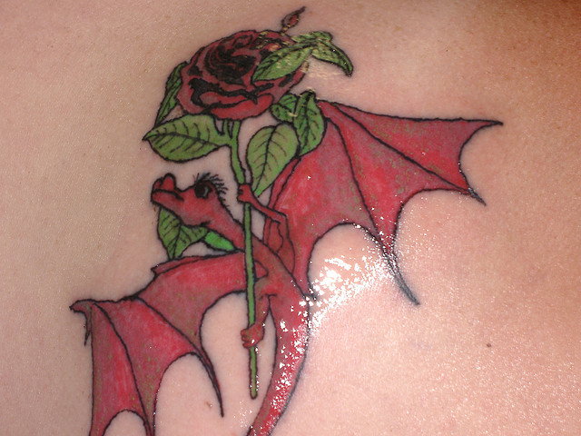 Как сделать переводную татуировку