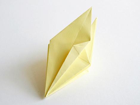 Как сделать ромб из бумаги