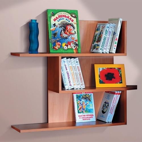 Как сделать полочку для книг