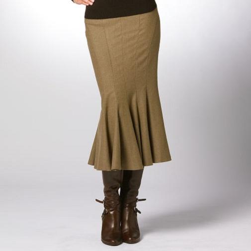 Как сшить юбку-годе