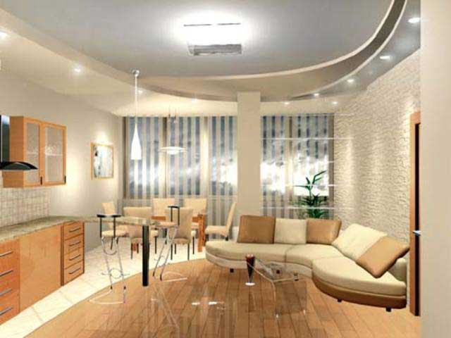 Квартиры-студии даже с маленькой площадью выглядят весьма просторными