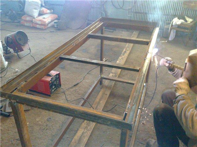 Столы для гаража своими руками фото