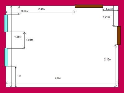 Как рассчитать <b>площадь</b> <strong>квартиры</strong>
