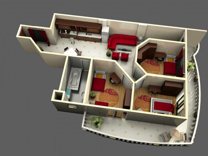 Как рассчитать площадь квартиры