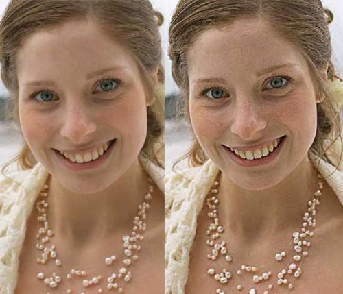 изображение справа более четкое