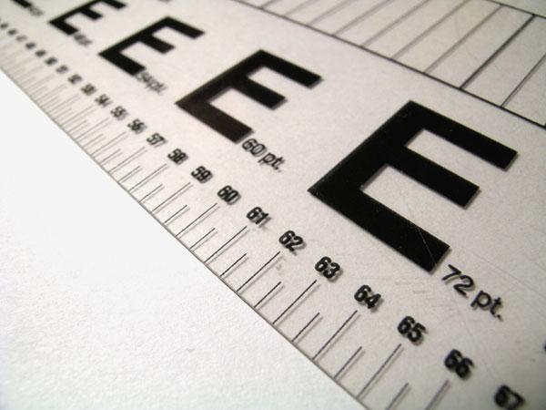 Как сделать мелкий шрифт