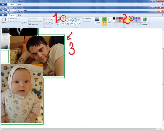 подсказка - если держать клавишу shift, линии будут получаться ровными без усилий =)
