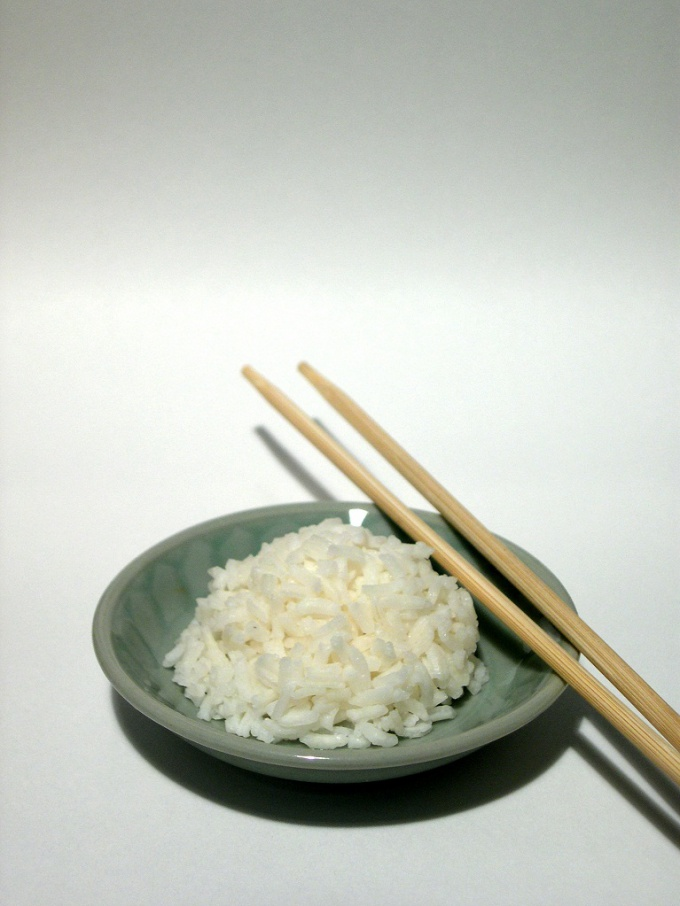 How to cook rice in the steamer