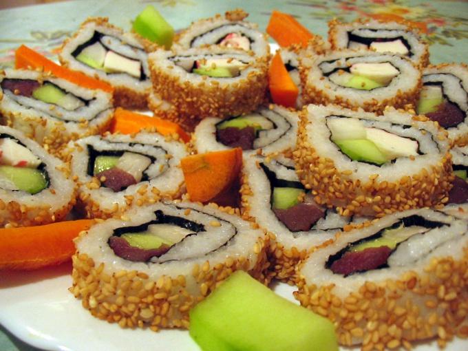 Как хранить суши