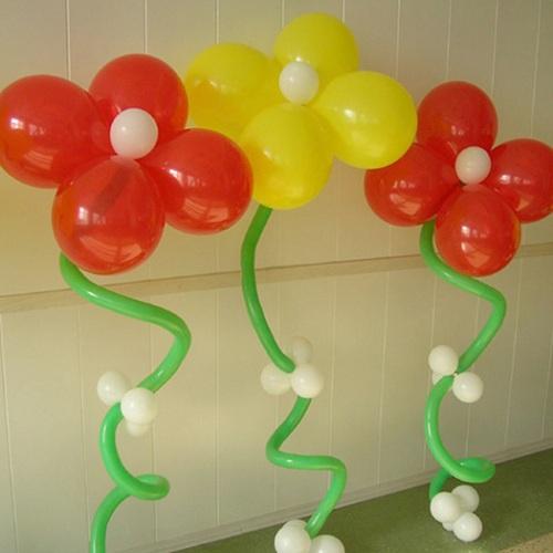 Как сделать композицию из шаров