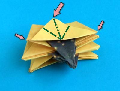 Как сделать подсолнух из <b>бумаги</b>